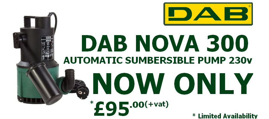 DAB Nova 300 MA Submersible Pump Special offer