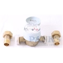 "1/2"" Alfa Cold Water Meter, Single Jet"