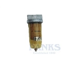 "Golden Rod Water Absorbing Fuel Filter 1"" Ports"
